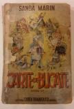 SANDA MARIN ( prefata Pastorel Teodoreanu ) - CARTE DE BUCATE, 1945