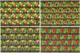 Romania 2005, LP 1676 b, Pesti exotici, coli de 20, MNH! LP 410,00 lei. RARE!!!, Fauna, Nestampilat