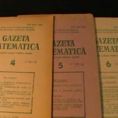 GAZETA MATEMATICA-/1986- NR-1,2,3,4,5,6-
