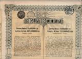 Actiuni Astra Romana 500 lei + 17 cupoane ptr. dividende_nr. 282502