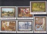 1987 LP 1177 REPRODUCERI DE ARTA DIN MUZEUL NATIONAL BUCURESTI SERIE  MNH