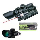 PROMOTIE UNICA! LUNETA PROFESIONALA CU LASER M9 LS3-10 X 42E RIFLE SCOPE .NOUA!, Bushnell