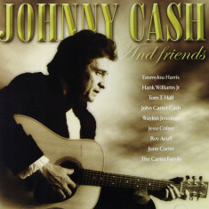 Johnny Cash JC And His Friends (cd)