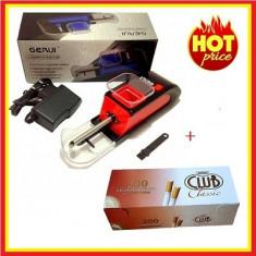 Aparat Electric de Facut Tigari/ Injectat tutun Gerui 004 + Filtre Club Classic