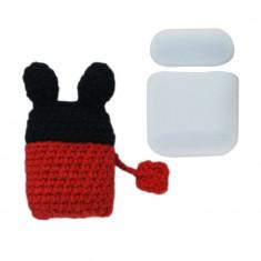 Husa Apple AirPods 1gen /2 gen + Husa Textila, Mouse