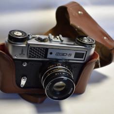 Aparat Camera foto FED - 5 / model Olimpiada de la Moscova 1980 - de colectie