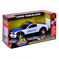 Masina politie Super Trailblazer, 30 cm, lumini si sunete