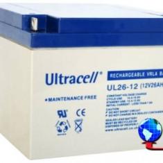 Acumulator plumb acid Ultracell 12V 26Ah