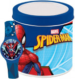 Cumpara ieftin Ceas Junior, Marvel Kid, Spiderman - Tin box 500919