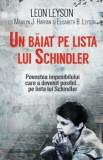 Un baiat pe lista lui Schindler/Leon Leyson