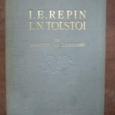 Amintiri si scrisori- I. E. Repin, L. N. Tolstoi