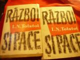 LN Tolstoi - Razboi si Pace -2 volume Ed.ESPLA 1959 trad I.Frunzetti ,585+616pag