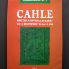 CAHLE din Transilvania si Banat de la inceputuri pana la 1700 (cahla)