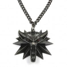 Pandantiv Medalion Lantisor Colier The Witcher 3 Wild Hunt cu led - Jinx - Original