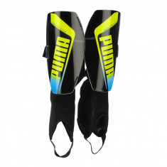Aparatori fotbal Puma EvoSPEED 3.2 black-yellow-brilliant blue 03046101, S
