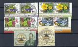 ROMANIA – FLORA SI FAUNA, CUZA,  serii stampilate, EW12