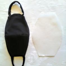 Măști reutilizabile din bumbac cu filtru din material TNT.