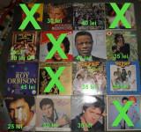 vinyl Rod Stewart,Nat King Cole,Roy Orbison,BZN,Cat,Shakin' Stevens,Tom Jones
