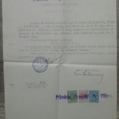 Certificat nationalitate roman din Caliacra, Balcic// Primaria R. Valcea, 1948