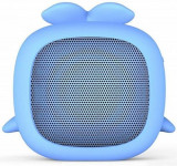 Boxa portabila KitSound Boogie Buddy KSBOGWHA - Whale, Bluetooth, 3 W (Albastru)