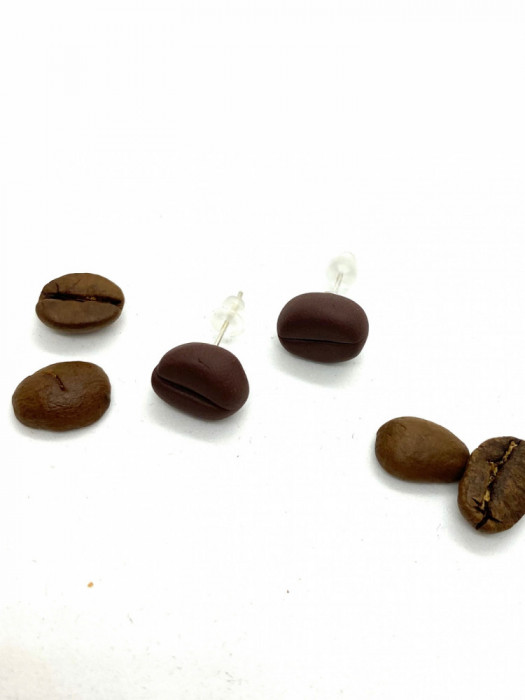 Cercei boabe de cafea