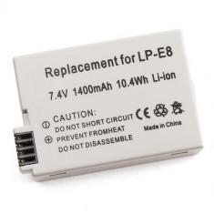 Acumulator replace LP-E8 1400mAh compatibil Canon 550D 600D 650D 700D