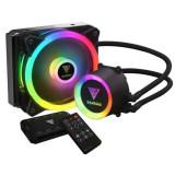 Cooler procesor cu lichid Gamdias Chione E2-120R iluminare RGB