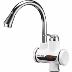 Robinet instant pentru încălzire apă, 3000W, 30-60 grade, Freddo