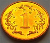 Moneda exotica 1 CENT - ZIMBABWE, anul 1997 *cod 1039 = UNC din SET NUMISMATIC, Africa