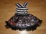 Costum carnaval serbare vrajitoare monster high pentru copii de 6-7 ani, Din imagine