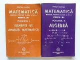 Matematică - M1 - Manual a XII-a - 2 volume - analiza, algebra - Mircea Ganga