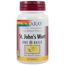Supliment Alimentar St.John's Wort(Sunatoare) 900mg Solaray Secom 30tb Cod: 24136 foto