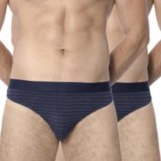 2 pack chilot barbatesc ROSSLI Stripes Blue