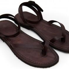 Sandale de dama din Piele Italia Gaetana Maro