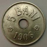 ROMANIA, 5 BANI 1906 J_XF-aUNC * cod 99