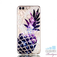 Husa Huawei P Smart / Enjoy 7S TPU Model Ananas Mov