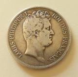 5 Franci 1830-W Louis Philippe I - Argint