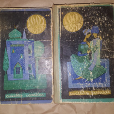1001 de nopti basme arabe istorisite de Eusebiu Camilar /2 volume ilustrate
