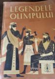 A  MITRU  LEGENDELE OLIMPULUI  ZEII ,EROII  ilustratii de C. Condacci  TD