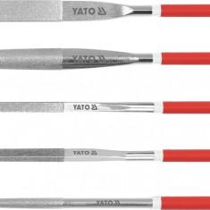 Set 5 pile diamantate 180 mm YATO