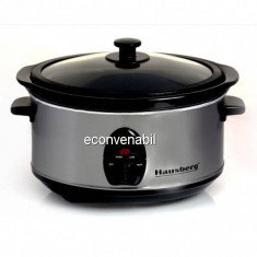 Oala electrica 6.5L 320W Slow Cooker Hausberg HB1301