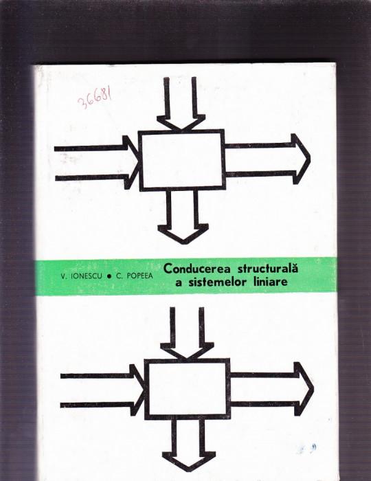 CONDUCEREA STRUCTUALA A SISTEMELOR LINIARE