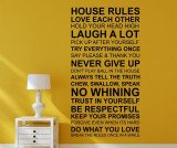 Sticker House Rules