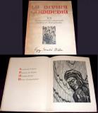La Divina Commedia - 20 xilogravuri Gy. Szabó Béla, album de arta format mare