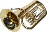 Eufoniu profesional 4 pistoane Monel Karl Glaser Bb Euphonium Baritonhorn auriu
