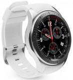Smartwatch iUni DM368, 1.39inch, GPS, Bratara silicon (Alb)
