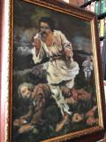 8 Ion Rascoala, reproducere celebra tablou, tablou celebru Recrutul 61x50 cm