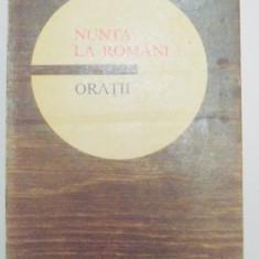 NUNTA LA ROMANI , ORATII , 1974