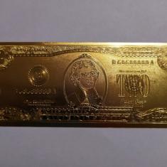 2 dolari  - bancnota polymer aurita - UNC