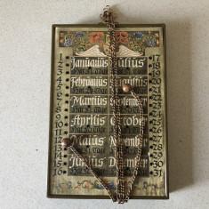 Calendar vechi german